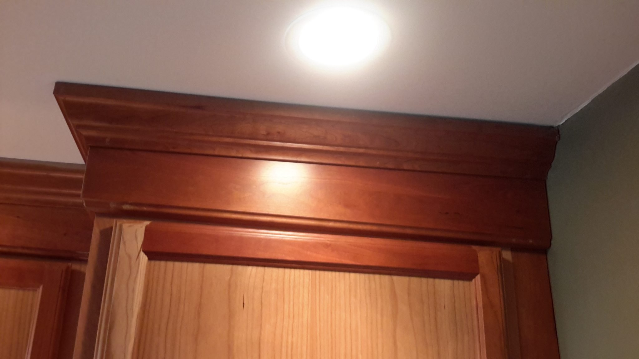 ceilings that are not level and crown molding kitchen gallery