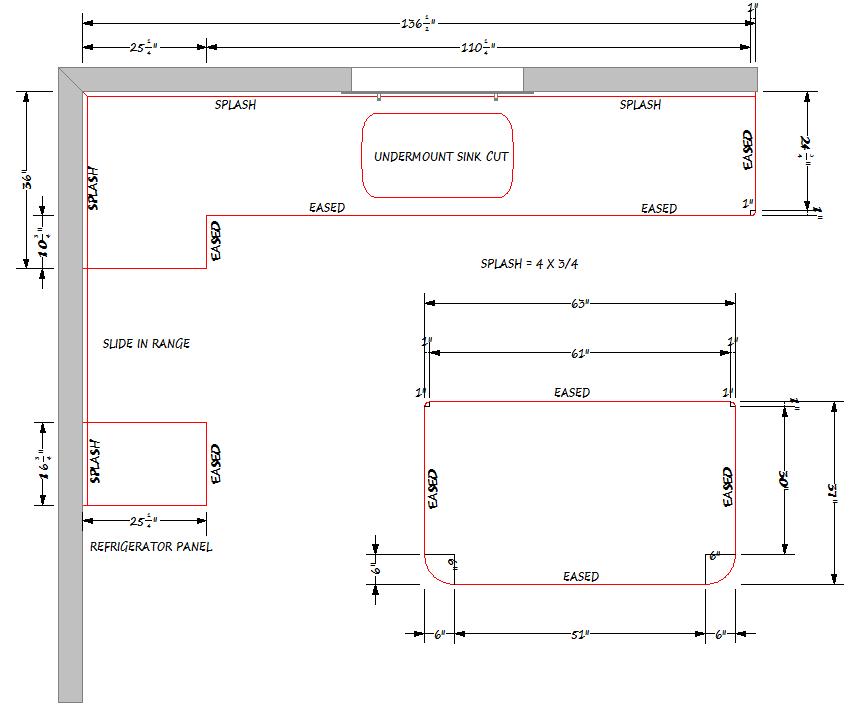 Countertop Plan