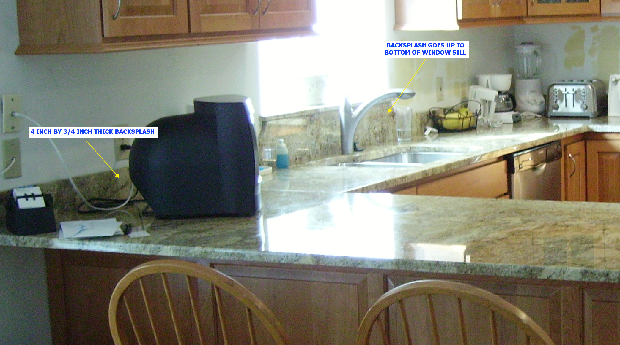 - To Splash Or Not To Backsplash... - Kitchen Gallery